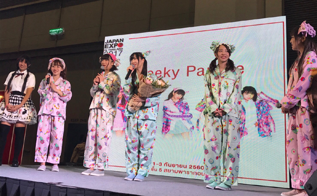 「Cheeky Parade」が「JAPAN EXPO IN THAILAND 2017」に出演