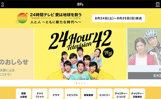 メイン パーソナリティ 歴代 テレビ 24 時間